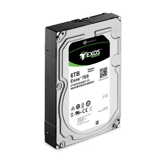 SEAGATE 希捷 银河Exos 7E8 企业级硬盘 6TB 256MB 7200rpm ST6000NM0115