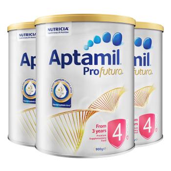 Aptamil 爱他美 白金版 婴幼儿童配方奶粉 4段 900g*3罐