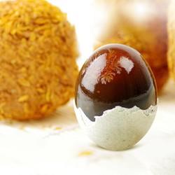 依禾农庄松花蛋皮蛋河南特产鸭蛋变蛋无铅溏心松花蛋60g*20枚装