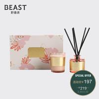 THE BEAST 野兽派 Garden系列 Miniset 花草香氛礼盒 千叶玫瑰