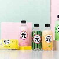 亲亲元气 苏打气泡水 4种口味 300ml*12瓶整箱