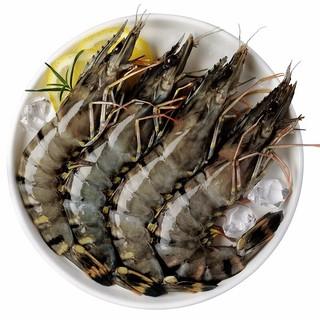 农小瑶 越南进口黑虎虾  净重400g *3件