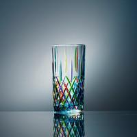 意大利原产ZECCHIN圣殿系列威尼斯酒杯彩色玻璃杯子水杯360ml 浅蓝