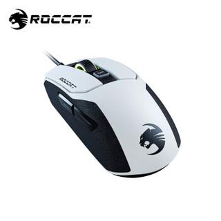 德国冰豹ROCCAT卡宴kain鼠标(吃鸡电竞鼠标 游戏机械宏编程机械鼠标 办公电脑鼠标) KAIN 102 入门有线版-熊猫白