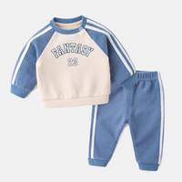 嘟嘟家 儿童运动套装  BGB170ACF178 蓝色 66cm