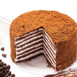 耶撒雅尼 提拉米苏千层蛋糕 奶油原味 500g