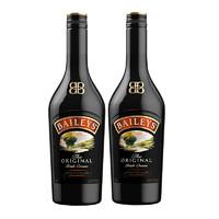 BAILEYS 百利甜酒 力娇酒 原味 700ml*2瓶