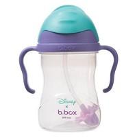 银联专享:B.BOX 限量迪士尼系列 美人鱼款 婴幼儿重力球吸管杯 240ml 紫蓝色