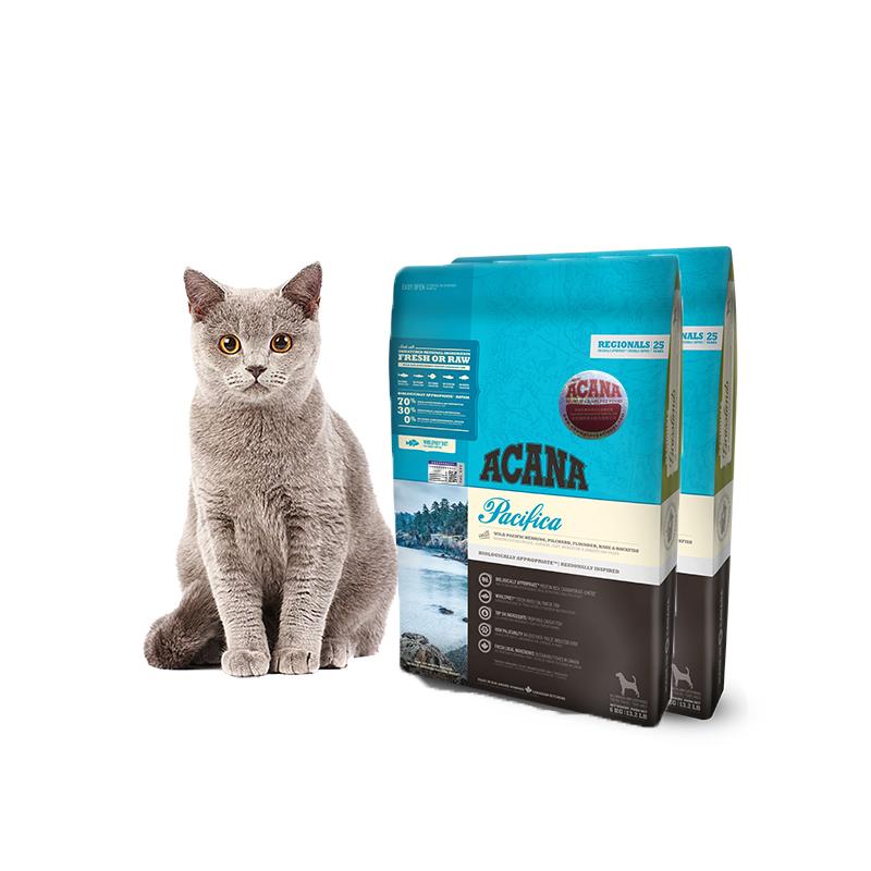 ACANA 爱肯拿 鱼肉味猫粮 5.4kg