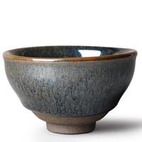 道诣堂 鹧鸪斑建盏茶杯 78ml