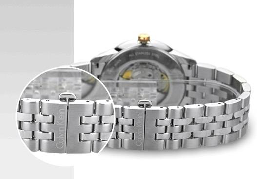 最佳入门款腕表?——Calvin Klein 卡尔文·克莱 Infinite K5S34B46 男士自动机械表