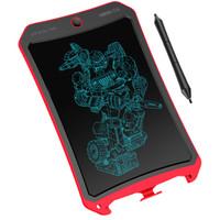 乐写 9309 液晶手写板 儿童画板 电子画板  手写版 手绘板  草稿写字板 8.5英寸 炫彩红