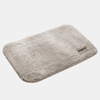 京东PLUS会员 : QUATREFOIL地垫玄关门垫厨房浴室吸水防滑垫 40*60cm米色 *5件