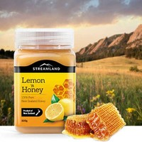 新西蘭Streamland新溪島 檸檬蜂蜜 500g*2