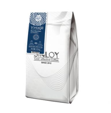 sinloy 3日内新鲜烘焙 SINLOY蓝山风味咖啡豆 可现磨纯黑咖啡 454g 中度烘焙