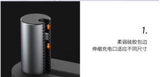 ROCK 洛克 云启 Type-C 可充电扩展坞底座(HDMI/USB3.0/Type-C)