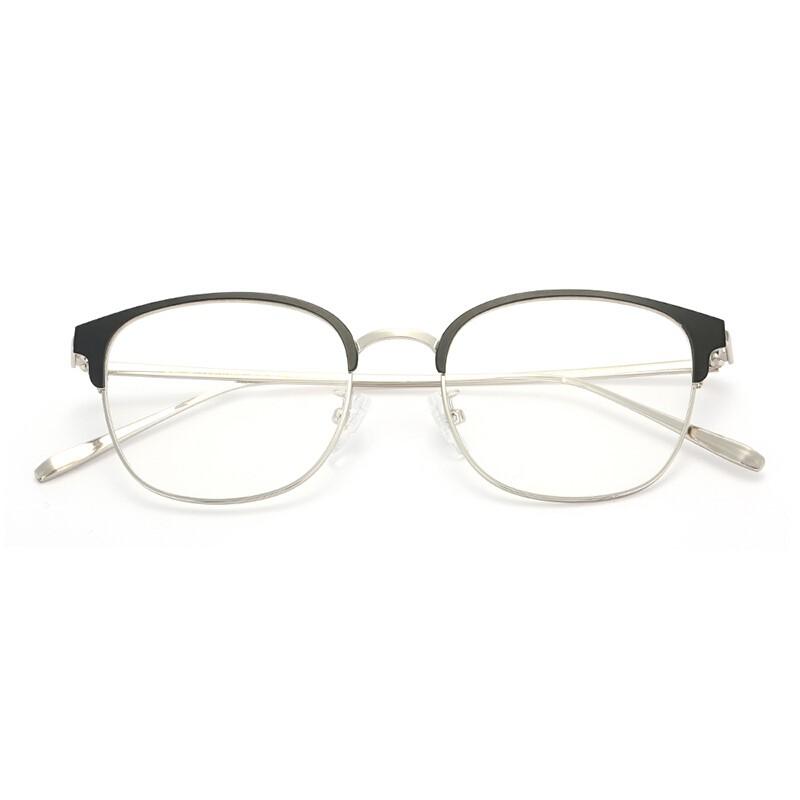 HAN 汉 套镜 (光学眼镜架 + 1.60非球面树脂镜片)  HD42081 黑色