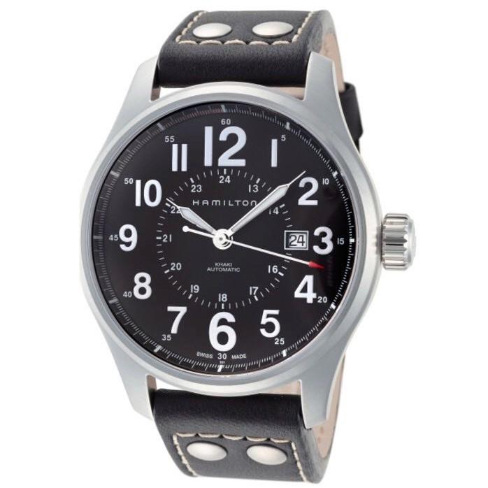 Hamilton 汉密尔顿 Khaki Officer H70615733 男款机械腕表