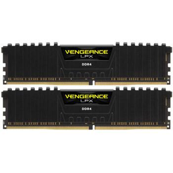 CORSAIR 美商海盗船 VENGEANCE 复仇者LPX 16GB(8GB×2) DDR4 3200 台式机内存条