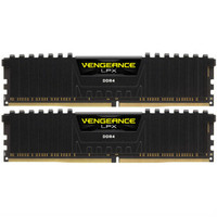 CORSAIR 美商海盗船 VENGEANCE 复仇者LPX DDR4 3200MHz 台式机内存条 16GB(8GB×2)