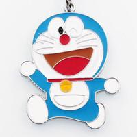 微信端 : 卡通金属机器猫哆啦梦钥匙扣挂件