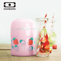 法国monbento 保温饭盒便携焖烧杯焖烧壶罐上班族便当盒 500ml  (芝芝莓莓)18024007 *2件