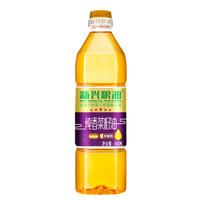 新兴粮油 纯香菜籽油小瓶 900ml 四川压榨 非转基因食用油 *16件