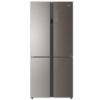 海爾BCD-550WDCG 550升 十字對開 冰箱 全空間保鮮 瑪瑙棕
