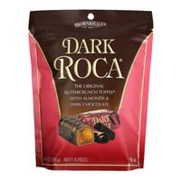 乐家(Almond Roca)扁桃仁巧克力糖 杏仁糖果 黑巧克力味 美国进口 198g/袋