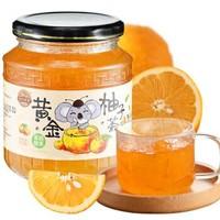 金日禾野 蜂蜜柚子茶果蔬酵素500g *6件