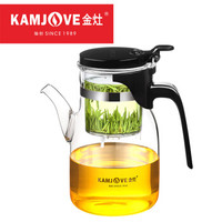 金灶  大容量飘逸杯泡茶壶  K-208/900毫升