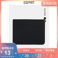 ESPRIT潮流时尚钱包男个性短款手拿卡包休闲商务OL风男士皮夹