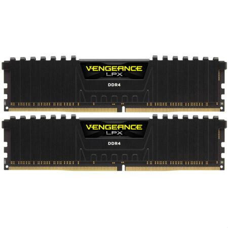 USCORSAIR 美商海盗船 VENGEANCE LPX 复仇者 DDR4 3600MHz 台式机内存 16GB(8GB*2)
