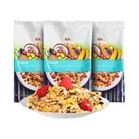ICA 50%水果坚果麦片 750g*3袋