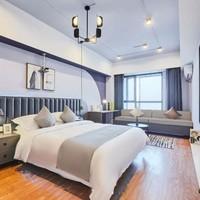 绍兴柴印未来智能黑科技酒店(上虞万达广场店) 360度睡眠未来黑科技房2晚 可拆分