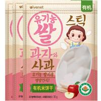 ivenet 艾唯倪 婴幼儿有机米饼 30g*3 苹果味
