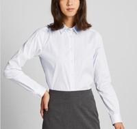 UNIQLO 优衣库 421417 女款弹力条纹衬衫