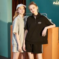 唐狮2020夏季新款运动套装女休闲学生运动装时尚潮短