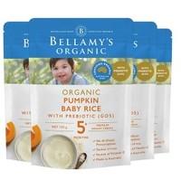 BELLAMY'S 贝拉米 婴儿南瓜益生元米粉 125g*4(5个月以上)