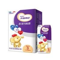 法国原装进口 圣元(Synutra)优博 布瑞弗尼3段幼儿配方液态奶(适合12-36月龄) 200ml*6 轻享装