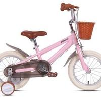 PHOENIX 凤凰 SHS-英伦 儿童自行车 樱花粉 14寸