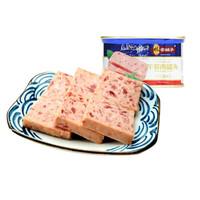 林家铺子午餐肉罐头猪肉罐头肉即食火腿速食下饭菜火锅整箱3罐 *2件
