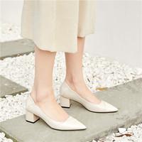 Luiza Barcelos 女士尖頭粗跟靴
