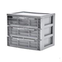 lattliv 实用三层抽屉收纳盒 *2件