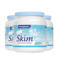 Maxigenes 脱脂奶粉 1kg*3罐