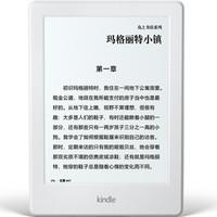 Kindle 亚马逊入门版款 Paperwhite3 4代 OasisII2代电纸书电子书 包邮包税 Paperwhite3经典版白色