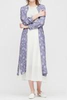 UNIQLO 优衣库 424778 女士印花衬衫式连衣裙