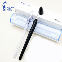PILOT/百乐一航 PILOT 学生钢笔 练字 透明 FP-60R 绘画 速写 贵妃 百乐免费刻字