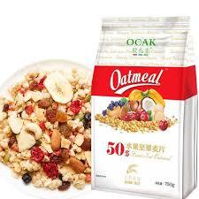 欧扎克 50%水果坚果麦片 750g *4件