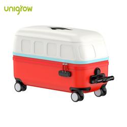 稚行 小巴士箱红色 儿童玩具旅行箱可坐20英寸可登机行李箱